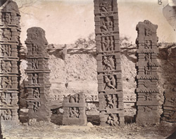 Sculptured pillars from Baijnath. 1003443